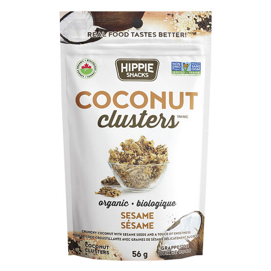 Hippie Snacks Coconut Chips - Original - 56g