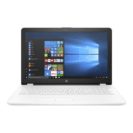 HP 15 inch Notebook 15-BW060CA - AMD A6 - White - 2DW38UA