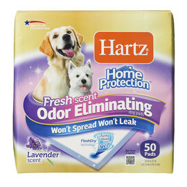 Hartz Odour Eliminating Dog Training Pads - 50's