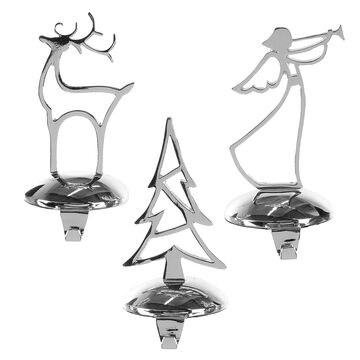 Winter Wishes Stocking Holder - 9 inch - Assorted