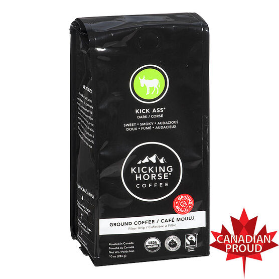 Kicking Horse Dark Ground Coffee - Kick Ass - 284g