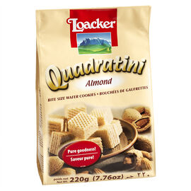 Loacker Quadratini - Almond - 220g