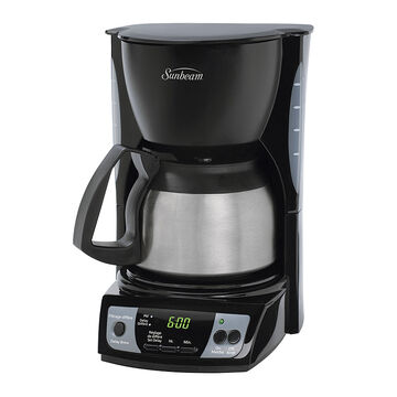 Sunbeam 5 cup digital Coffee Maker - Black - BVSBCGX9-03