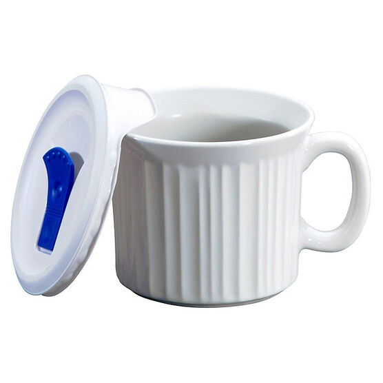 CorningWare Pop-ins French White Mug - 22 Ounces