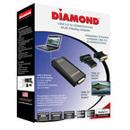 Diamond UGA USB 3.0 To DVI/HDMI/VGA Adapter - UGA3500OS