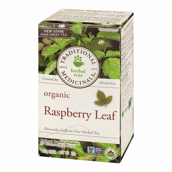 Traditional Flavoured Tea - Raspberry Leaf - 20's