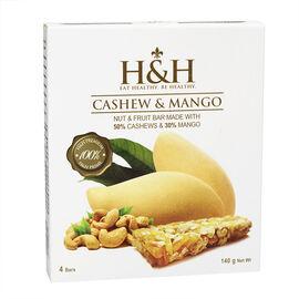 H&H Nut & Fruit Bar - Cashew & Mango - 140g