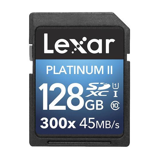 Lexar Platinum II 300X SDXC - 128GB - LSD128GBBNL300