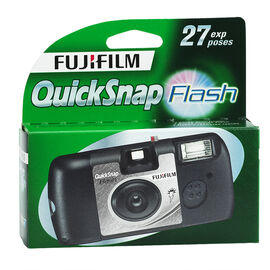 Fujifilm Quicksnap Flash X-Tra Single Use Camera