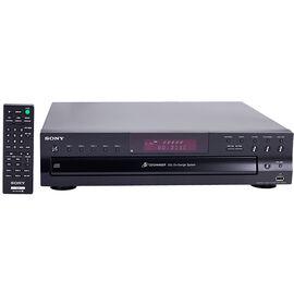 Sony USB 5-Disc CD Changer - Black - CDPCE500