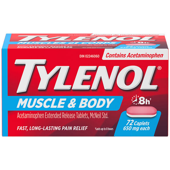 Tylenol* Muscle Aches & Body - 72's