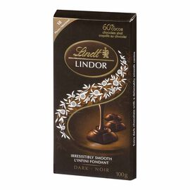 Lindt Lindor Bar - Dark Chocolate - 100g