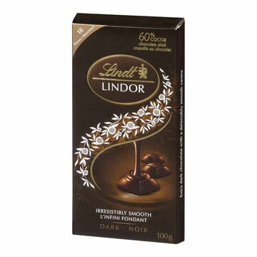 Lindt Lindor Bar - Dark Chocolate - 100g