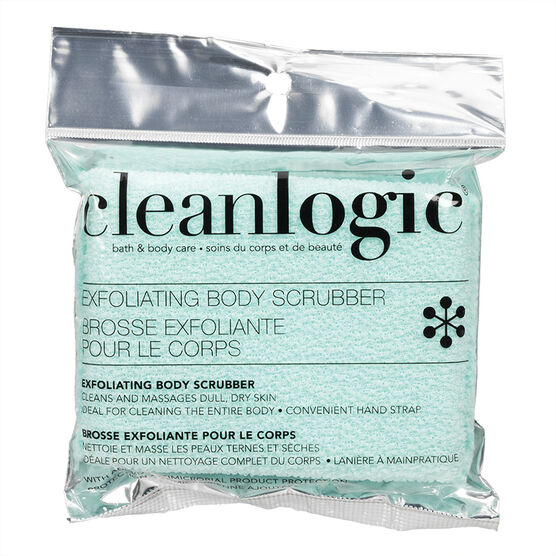 Cleanlogic Bath & Body Care Exfoliating Body Scrubber - Assorted