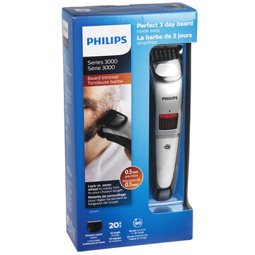 philips beard and stubble trimmer black qt4014 16 london drugs. Black Bedroom Furniture Sets. Home Design Ideas