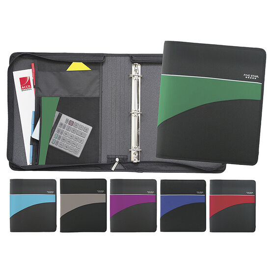 Five Star Zipper Binder - 2 inch - Assorted