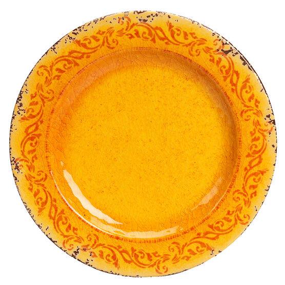London Drugs It's Melamine Plate - Orange - 11inch