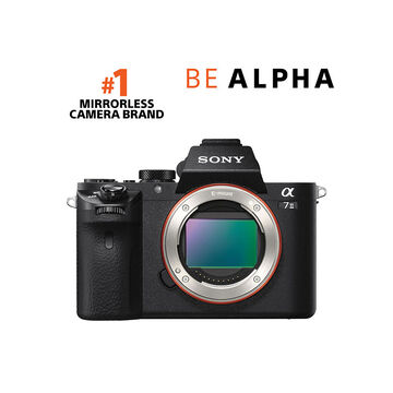 Sony Alpha A7 II Full-Frame Mirrorless Camera - Black - ILCE7M2