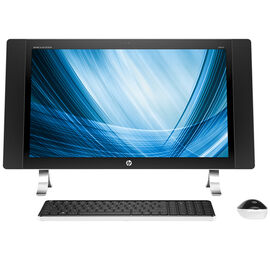 HP Envy 27-p041 All-in-One Desktop Computer - White - NOB16AA#ABA
