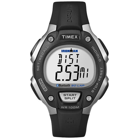 Timex Ironman Move 50+ Midsize - Black/Grey - TW5K86300F5