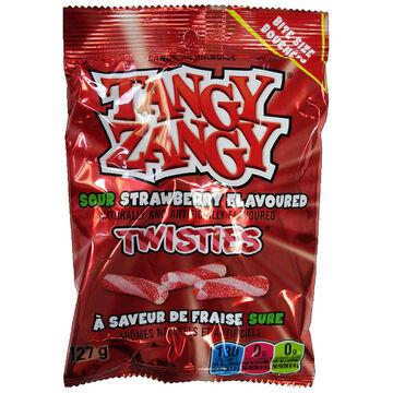 Tangy Zangy Sour Sticks - Strawberry - 140 g