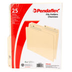 Pendaflex File Folders - Manila - 25 Pack