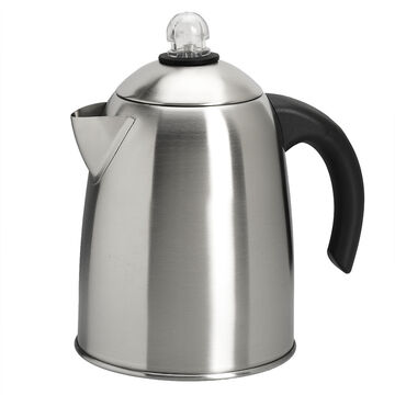 Fresco Stovetop Coffee Percolator - 1.8L - Stainless Steel - FSP-18