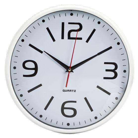 London Drugs Wall Clock - Vienna - 28.6 x 5.8cm