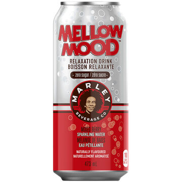 Marley Beverage Co - Mixed Berry Sparkling Water - 459ml