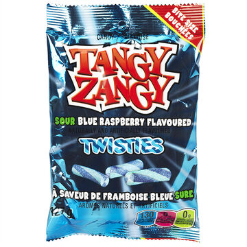 Tangy Zangy Sour Sticks - Blue Raspberry - 140 g
