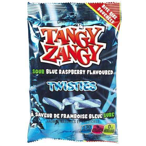 Tangy Zangy Sour Sticks - Blue Raspberry - 140 g