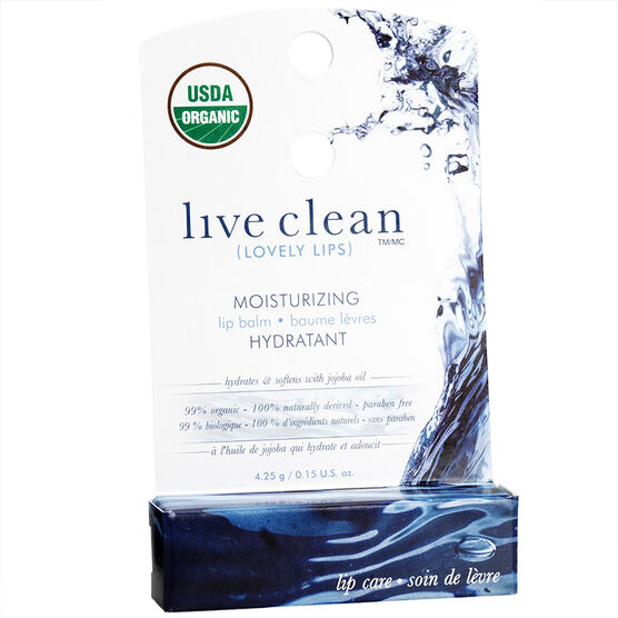 Live Clean Lovely Lips Moisturizing Lip Balm
