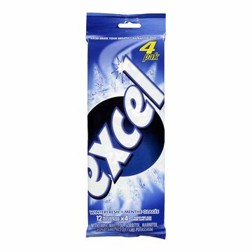 Excel Gum - Winterfresh - 4 pack