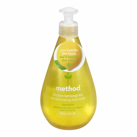 Method Kitchen Hand Wash - Lemongrass - 532ml