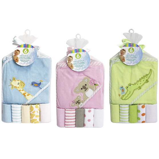 Honey Bunny Bath Gift Set - Assorted - 6 piece