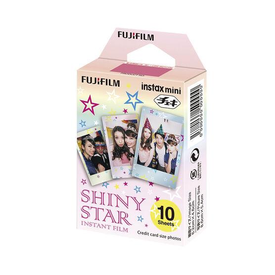 Fuji Instax Mini Film - Shiny Star - 10 Exposures - 600015914