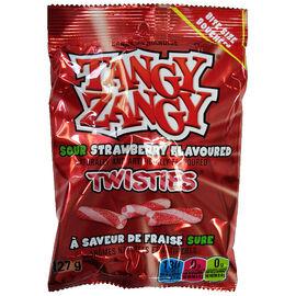 Tangy Zangy Sour Sticks - Strawberry - 127g