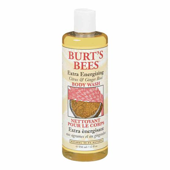 Burt's Bees Citrus & Ginger Root Body Wash - 350ml