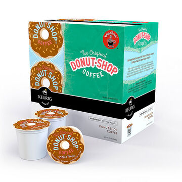 K-Cup Donut Shop Coffee  Pods - 18's