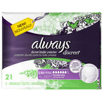 Always Discreet Underwear Moderate Small/Medium  - 21's