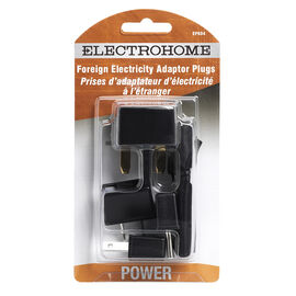 Electrohome EP604 - Power connector adapter - power 2-pole (F) - power (M)