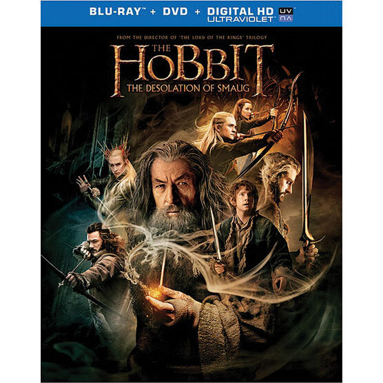 The Hobbit: The Desolation of Smaug - Blu-ray Combo