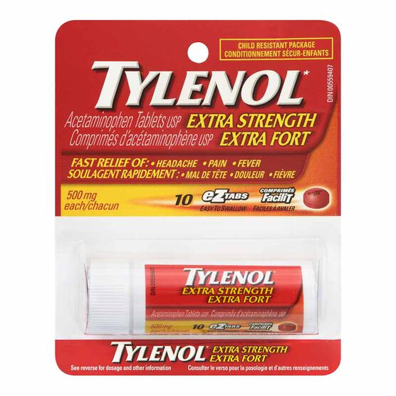 Tylenol* Extra Strength Tablets - 10's