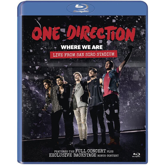 One Direction - Where We Are: Live - Blu-ray