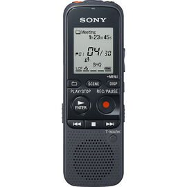 Sony 4GB Digital Voice Recorder - Black - ICDPX333