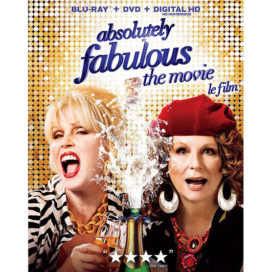 Absolutely Fabulous: The Movie - Blu-ray