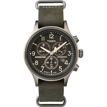 Timex Expedition Scout Chronograph - Green - TW4B04100ZA