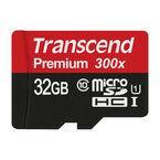 Transcend 300X 32GB microSDHC - TS32GUSDU1