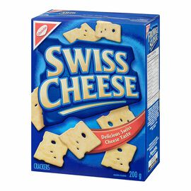 Christie Crackers - Swiss Cheese - 200g