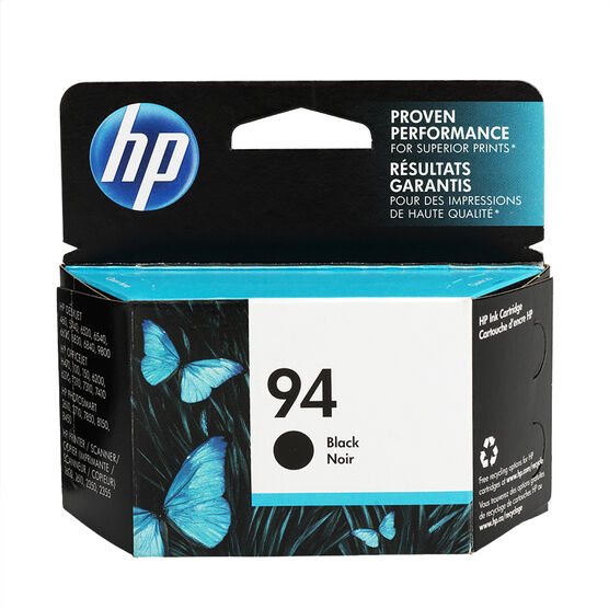HP 94 Vivera Ink Cartridge - Black - C8765WN#140